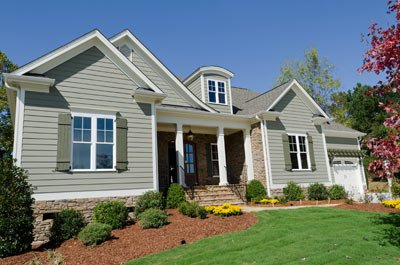 fiber cement siding installation by Guaranteed Roofing