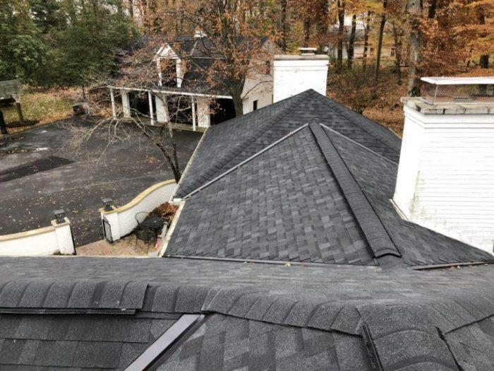Ridge vents and Pro edge cap shingles