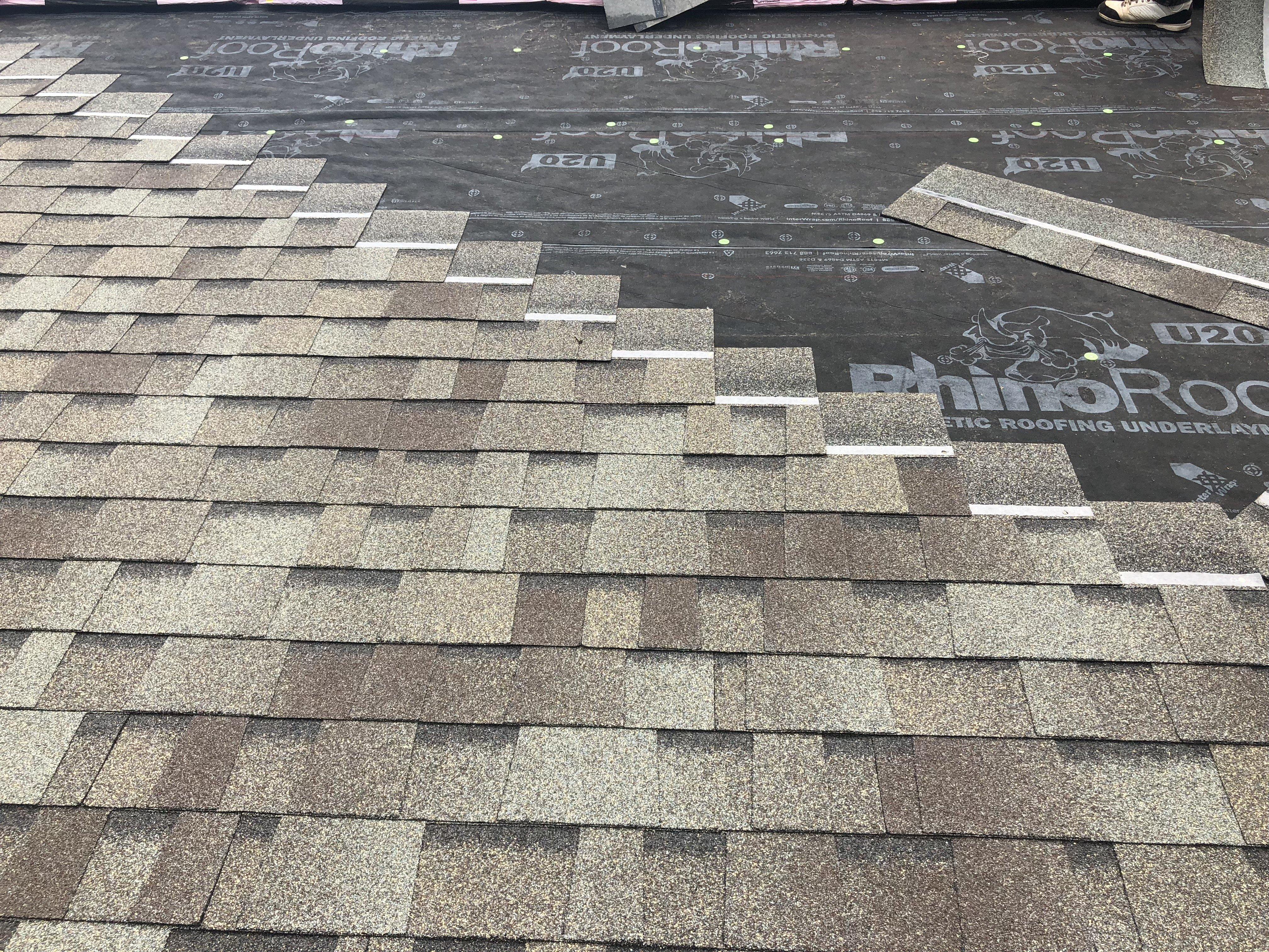 Proper Shingle Pattern Guaranteed Roofing Cincinnati Ohio