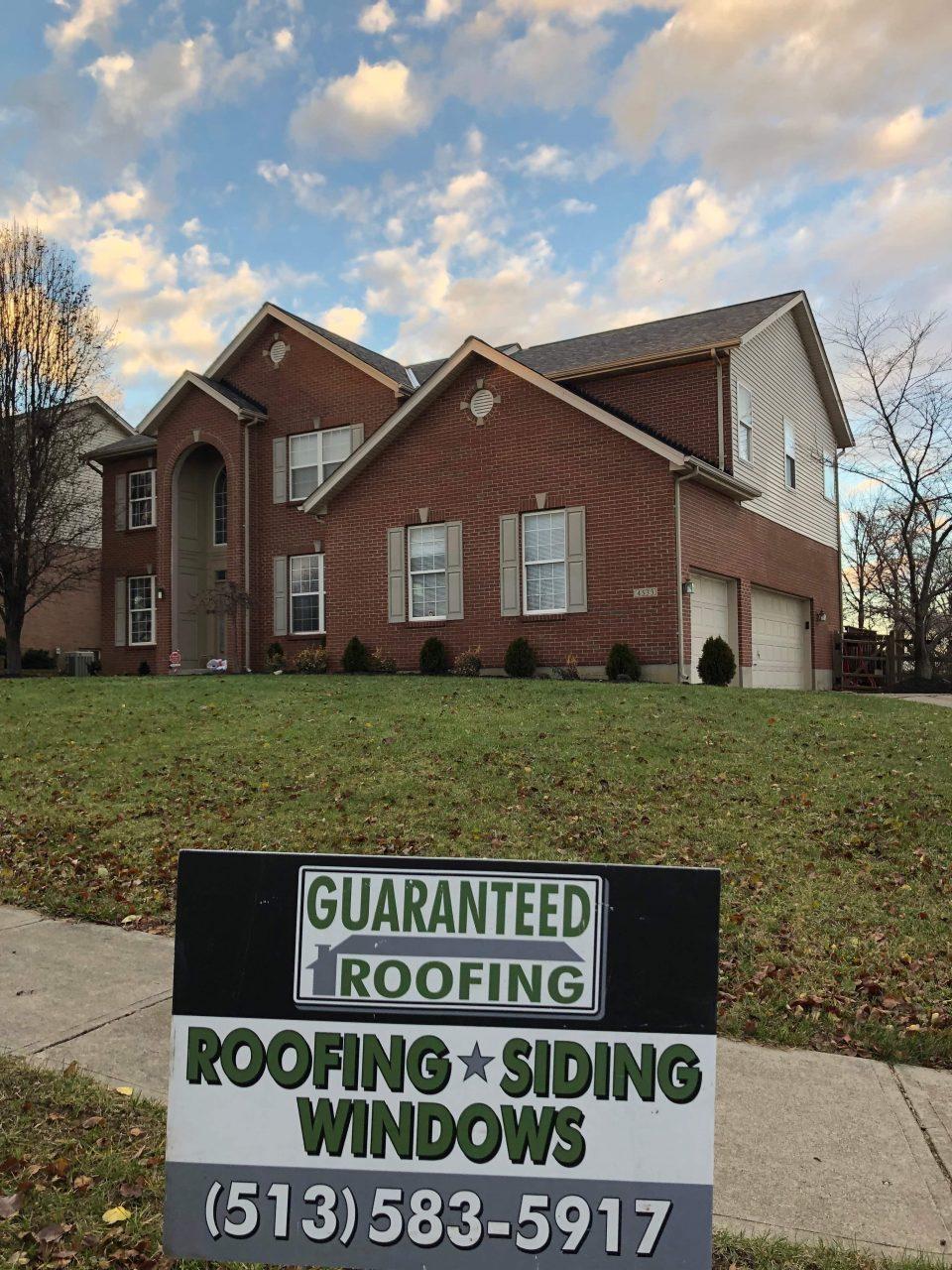 Roof Repair Cincinnati by Guaranteed Roofing