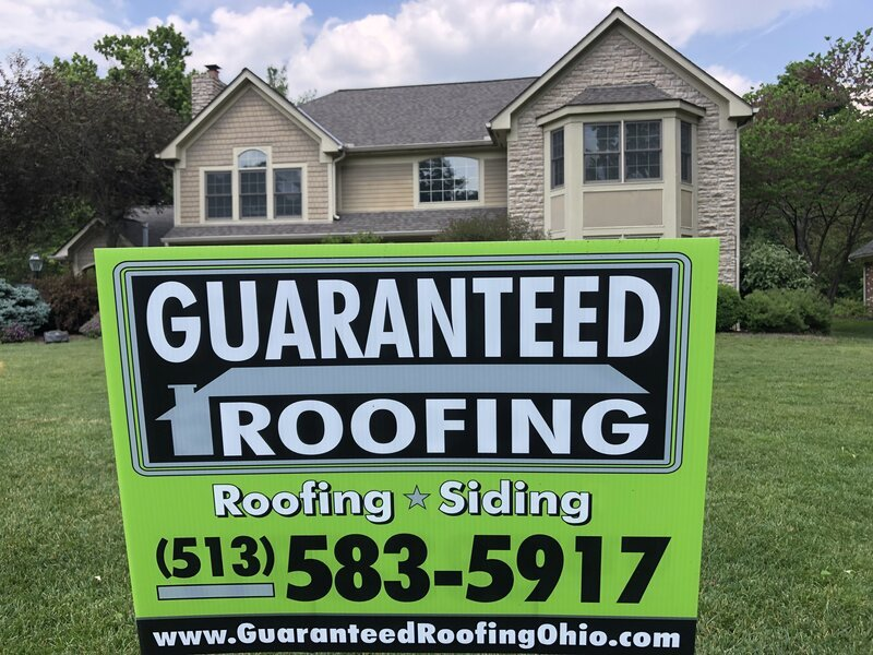 Terrace Park roof by Guaranteed Roofing
