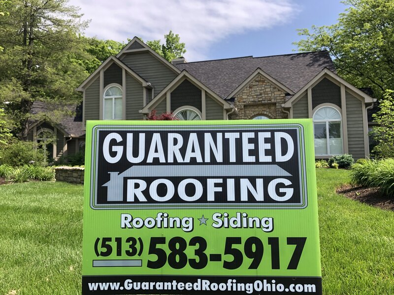 Loveland Ohio roof by Guaranteed Roofing