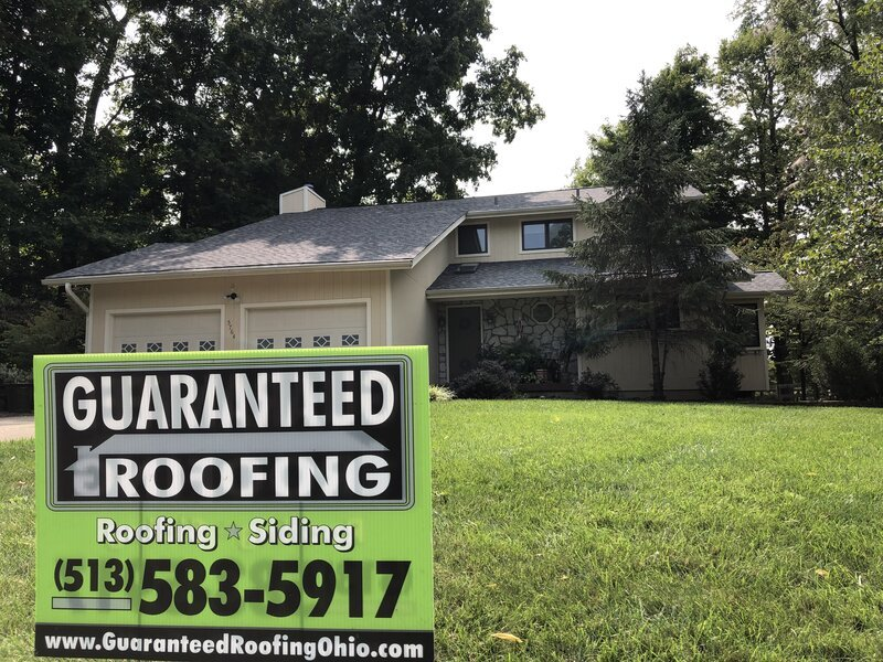 Milford Ohio roof by Guaranteed Roofing